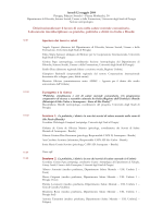 Programma - SaluteInternazionale