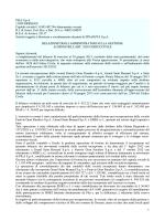 PILA S.p.A. 11020 GRESSAN Capitale sociale €. 8.993.497,50