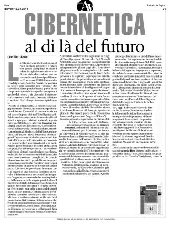 Cibernetica al di l del futuro