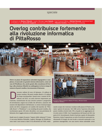 articolo Logistica Management