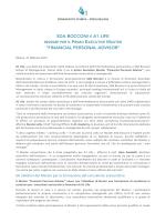 C.S. A1Life - SdaBocconi