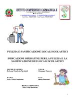 regolamento sanificazione e igiene
