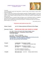 bollettino pasqua 2014 - Parrocchie Tombe Spirito Santo