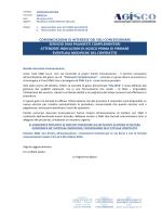 2014.10.28 – Comunicazione – Palinsesti