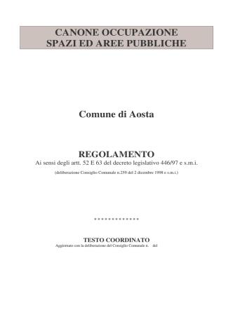 Allegato N. 2 _REGOLAMENTO COSAP 2014