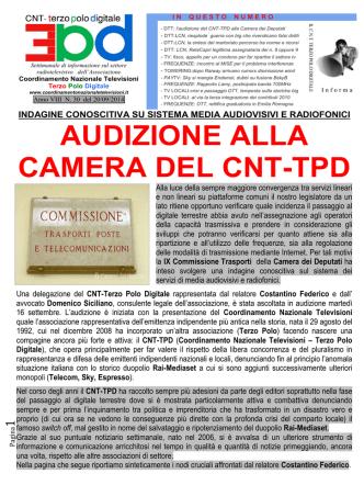 CNT 30 - Coordinamento Nazionale Televisioni