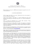 Bando - Governo Italiano