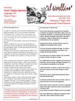 2014-07-27 - Prima pagina web parrocchia cordovado PN