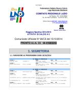Com. Uff. LND Calcio a 5 C1-C2-D-JUR-FEMM.