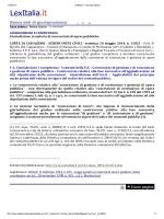 SEZIONI UNITE CIVILI - Studio Legale Padula
