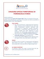 La locandina - pdf - Direzione regionale Emilia Romagna