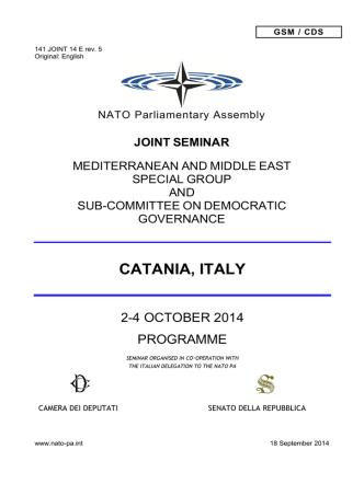 CATANIA, ITALY - Andrea Manciulli