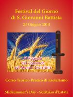 Festival del Giorno di S. Giovanni Battista