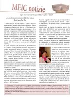 La newsletter con il calendario delle iniziative