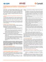 informativa in materia di trattamento dei dati personali