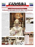 Ordinazione episcopale di S.E.R. Mons. Carlo Bresciani