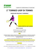 1° TORNEO UISP DI TENNIS