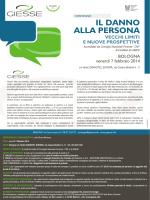 IL DANNO ALLA PERSONA - Ordine degli Avvocati di Rimini