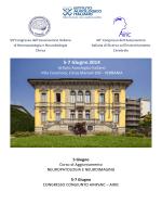 programma preliminare - Istituto auxologico italiano