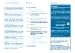 Presentazione del Convegno Programma: Informazioni: