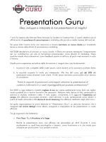 clicca sul bottone - Presentation Guru