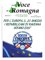 La Voce di Romagna - Partito Repubblicano Italiano