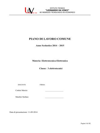 Accedi - Istituto Tecnico Leonardo da Vinci