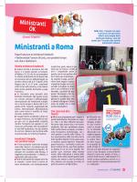 Ministranti a Roma - Dossier Catechista