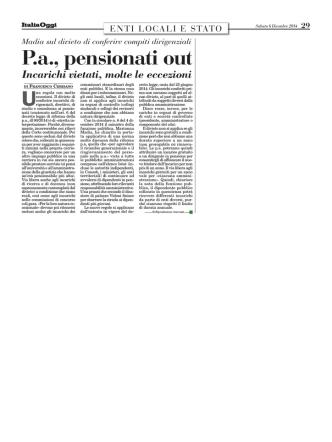 articolo ItaliaOggi del 06.12.2014