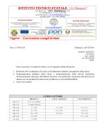 "Convocazione consigli di classe - ITCG ""Filangieri"" di Trebisacce"