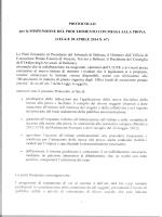 il Protocollo - Tribunale di Belluno