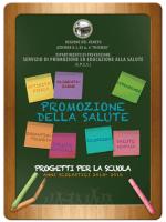 Opuscolo presentazione progetti anni scolastici