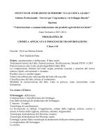 Chimica Applicata 4 B - IIS Costa Azara Sorgono