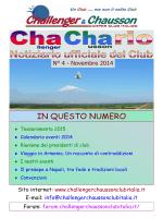 IN QUESTO NUMERO - Campeggio Club Varese