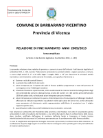 COMUNE DI BARBARANO VICENTINO Provincia di Vicenza