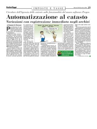 articolo ItaliaOggi del 30.12.2014