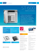 ST 600 - scheda prodotto - Esse-ti