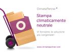 "Depliant ""Stampa climaticamente neutrale"""