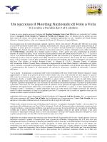 Un successo il Meeting Nazionale di Volo a Vela