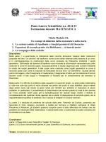 "Matematica - Liceo Scientifico ""Albert Einstein"" – Teramo"