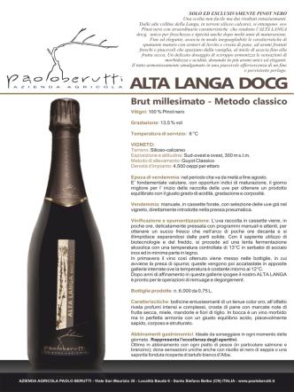 ALTA LANGA DOCG - Paolo Berutti