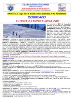 DOBBIACO - CAI sezione di Firenze