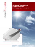 Diffusore automatico per biosanitizer