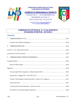 Com_73_Unico - F.I.G.C. Veneto