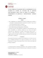 Bando - Sapienza