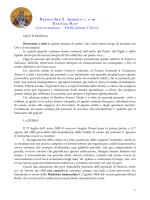 Intervento introduttivo dedicazione chiesa S.Ignazio