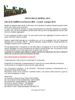 2/06/2014 Colle di Zambia-Val Seriana (BG) Il raduno del