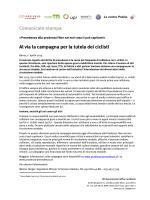 Comunicati stampa - Vorsicht beim Vortritt