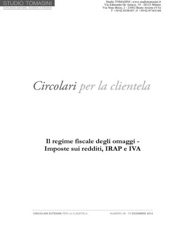 Circolare - Tomasini Professional Partners