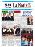 SM La Notizia X 4.indd - S M Photo News Agency